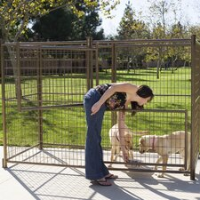 Modular Galvanized Steel Yard Kennel