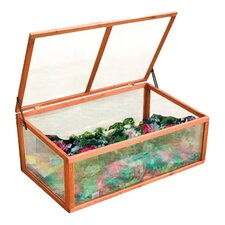 Gone Green 1.5 Ft. W x 2 Ft. D Cold Frame Plastic Greenhouse