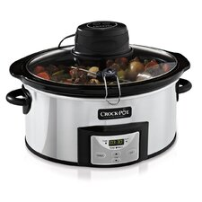 Digital 6 Qt. Slow Cooker with iStir™