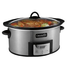 6-Quart Countdown Slow Cooker with Stove-Top Browning