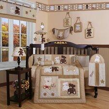 Boutique Teddy Bear 13 Piece Crib Bedding Set