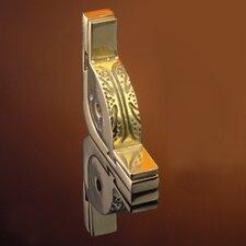 "Dynasty 120"" Smooth Tubular Stair Rod Set with Decorative Brackets Urn Finials"