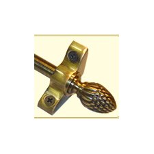 """Inspiration 36"""" Stair Rod Set with Pineapple Finials"""
