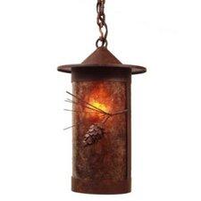 Ponderosa Pine 1 Light Outdoor Hanging Lantern