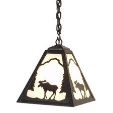 Moose 1 Light Outdoor Hanging Lantern