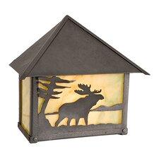 Moose 1 Light Wall Lantern