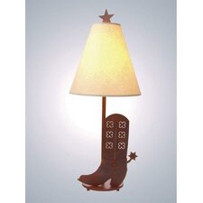 """Spur of The Moment Narrow 30"""" H Table Lamp with Empire Shade"""