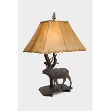 """Elk Shasta 22"""" H Table Lamp with Empire Shade"""