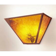Mission 2 Light Tapered Wall Sconce