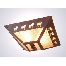 Band of Moose Drop Ceiling Mount