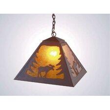 Moose 1 Light Swag Pendant