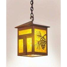 Mission 1 Light Outdoor Hanging Lantern