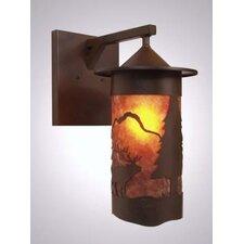 Elk 1 Light Wall Lantern
