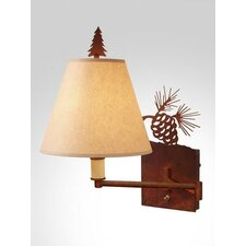 Pinecone Swing Arm Wall Lamp