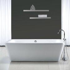 """Kido 69"""" x 23"""" Acrylic Freestanding Bathtub"""