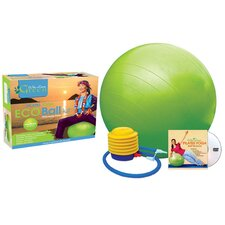 Phthalate-Free Exercise Ball Kit with DVD
