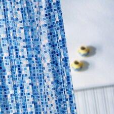 Mosaic Vinyl Shower Curtain