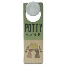 """Potty Zone"" Door Hanger"