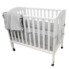 Heavenly Soft Minky Dot Chenille 3 Piece Crib Bedding Set