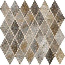 """Vesale Stone 2"""" x 3.5"""" Porcelain Mosaic Tile in Smoke"""