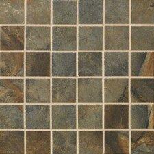 "Jade 2"" x 2"" Porcelain Mosaic Tile in Sage"