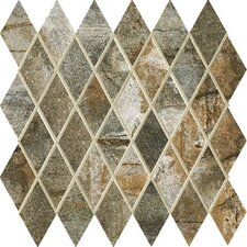 """Vesale Stone 2"""" x 3.5"""" Porcelain Mosaic Tile in Moss"""