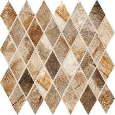 """Vesale Stone 2"""" x 3.5"""" Porcelain Mosaic Tile in Rust"""