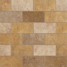 "Walnut Canyon 2"" x 4"" Porcelain Subway Tile in Golden"