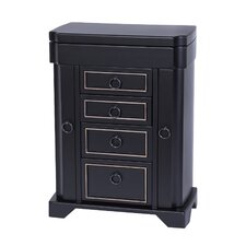 Hudson Upright Wooden Jewelry Box