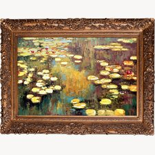 Water Lilies by Monet Original Painting on Canvas