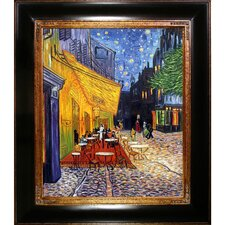 Cafe Terrace at Night by Vincent Van Gogh Original Painting on Canvas