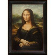 Mona Lisa by Leonardo Da Vinci Framed Hand Painted Oil on Canvas