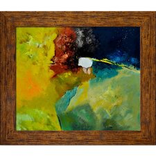 Ledent - Abstract 1811804 Framed, High Quality Print on Canvas