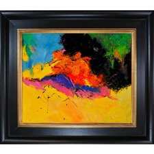 Ledent - Abstract 1811806 Framed, High Quality Print on Canvas