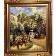 The Garden at Pontoise Pissarro Framed Original Painting