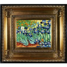 'Irises' by Vincent Van Gogh Framed Painting Print
