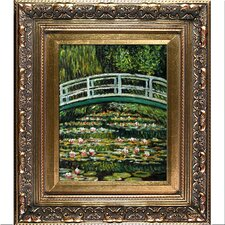 The Japanese Bridge by Monet Framed Hand Painted Oil on Canvas