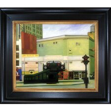 The Circle Theatre, 1936 by Edward Hopper Framed Painting Print