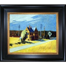 Railroad Crossing, 1923 by Edward Hopper Framed Painting Print