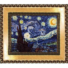 Starry Night by Vincent Van Gogh Framed Painting