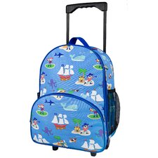 Olive Kids Pirates Rolling Backpack