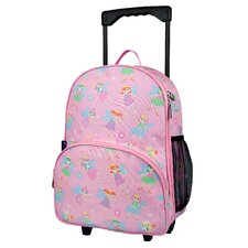 Olive Kids Fairy Princess Rolling Backpack