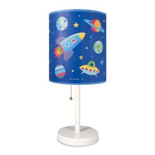 "Olive Kids 18"" Out of this World Cylinder 18"" Table Lamp with Drum Shade"