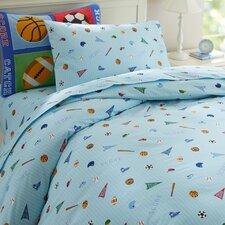 Olive Kids Game On Duvet Cover