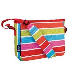 Ashley Bright Stripes Kickstart Messenger Bag