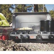 Gladiator Series FyreKnight 2-Burner Propane Stove
