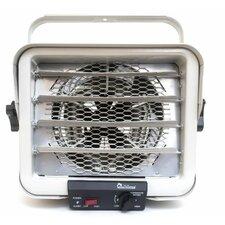 6,000 Watt Wall Mounted Electric Fan Compact Heater