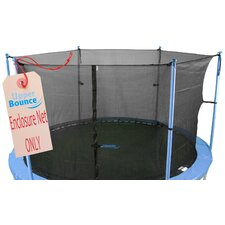14' Round Trampoline Net Using 6 Poles