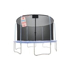 Round Replacement Trampoline Net Using 6 Poles