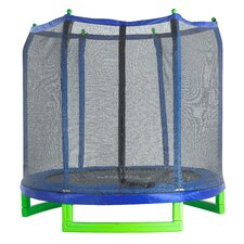 7' Trampoline with Enclosure
